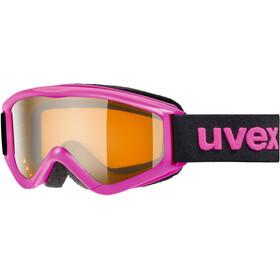UVEX speedy pro Maschera Bambino, rosa/arancione